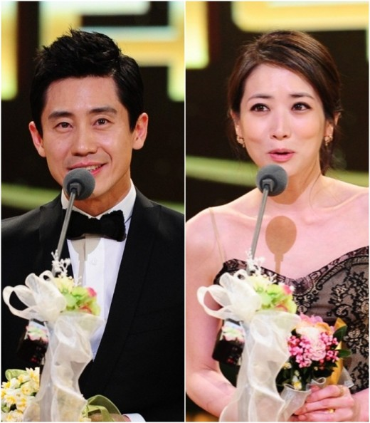 """Netizen Prize and Best Couple Prize for """"Brain"""" Couple on"""