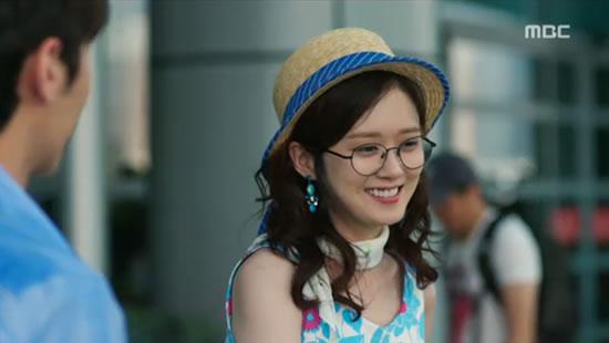Mi Young arrived Macau